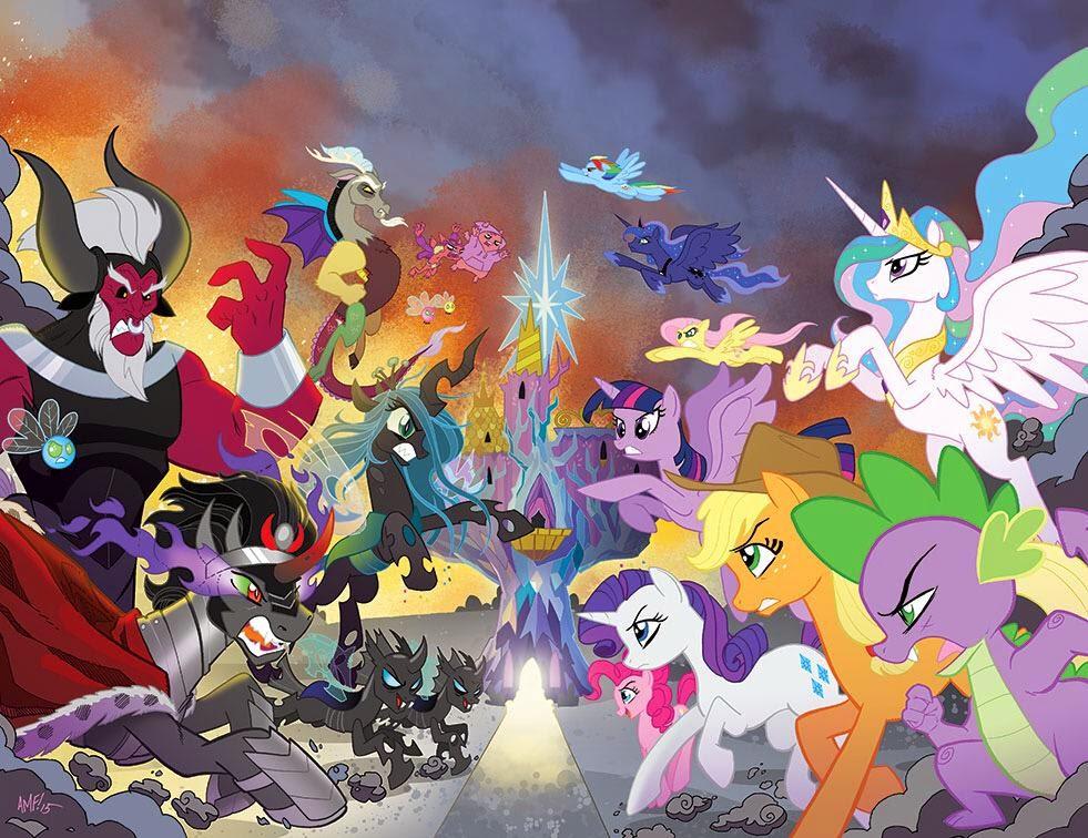 Злые пони из май литл пони картинки